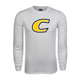 White Long Sleeve T Shirt-C