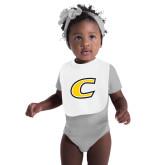 White Baby Bib-C Primary Mark