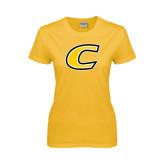 Ladies Gold T Shirt-C