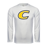 Syntrel Performance White Longsleeve Shirt-C