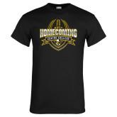 Black T Shirt-2017 Homecoming