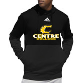 Adidas Black Team Issue Hoodie-C Centre College