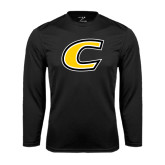 Performance Black Longsleeve Shirt-C