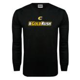 Black Long Sleeve TShirt-#GoldRush