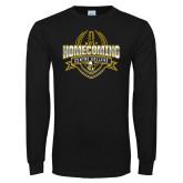 Black Long Sleeve T Shirt-2017 Homecoming