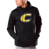 Under Armour Black Armour Fleece Hoodie-C Primary Mark