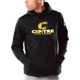 Under Armour Black Armour Fleece Hoodie-C Centre College