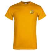 Gold T Shirt-C Primary Mark
