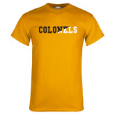 Gold T Shirt-Colonels Two Color