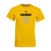 Gold T Shirt-Basketball Hanging Net