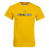 Gold T Shirt-#GoldRush