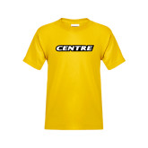 Youth Gold T Shirt-Centre