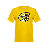 Youth Gold T Shirt-C with Colonel Head