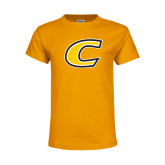 Youth Gold T Shirt-C Primary Mark