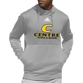 Adidas Grey Team Issue Hoodie-C Centre College