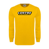 Gold Long Sleeve T Shirt-Centre Colonels