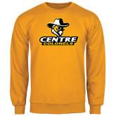 Gold Fleece Crew-Primary Logo