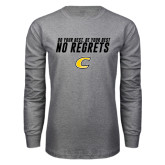 Grey Long Sleeve T Shirt-Do Your Best