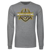 Grey Long Sleeve T Shirt-2017 Homecoming