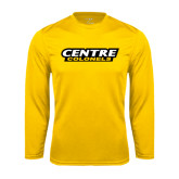 Syntrel Performance Gold Longsleeve Shirt-Centre Colonels