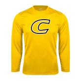 Performance Gold Longsleeve Shirt-C