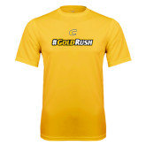 Syntrel Performance Gold Tee-#GoldRush
