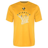 Performance Gold Tee-Colonels vs Cats