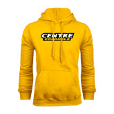Gold Fleece Hoodie-Centre Colonels