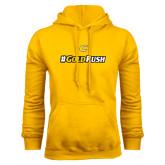 Gold Fleece Hoodie-#GoldRush