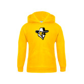 Youth Gold Fleece Hoodie-Colonel Head