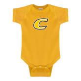 Gold Infant Onesie-C Primary Mark