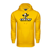 Under Armour Gold Performance Sweats Team Hoodie-Primary Logo
