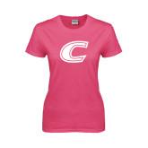 Ladies Fuchsia T Shirt-C