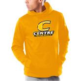 Under Armour Gold Armour Fleece Hoodie-Football