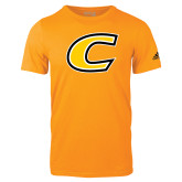 Adidas Gold Logo T Shirt-C