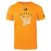 Adidas Gold Logo T Shirt-Colonels vs Cats