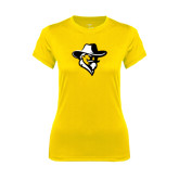 Ladies Syntrel Performance Gold Tee-Colonel Head