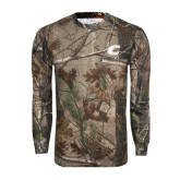 Realtree Camo Long Sleeve T Shirt w/Pocket-C
