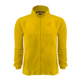 Fleece Full Zip Gold Jacket-C