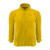 Fleece Full Zip Gold Jacket-C