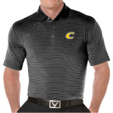 Callaway Core Stripe Black/White Polo-C Primary Mark