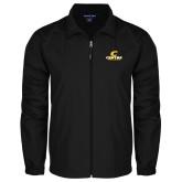 Full Zip Black Wind Jacket-C Centre College