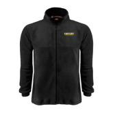 Fleece Full Zip Black Jacket-Centre Colonels