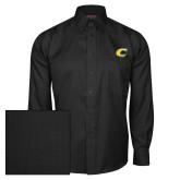 Red House Black Herringbone Long Sleeve Shirt-C Primary Mark