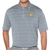 Callaway Horizontal Textured Steel Grey Polo-C Primary Mark