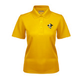 Ladies Gold Dry Mesh Polo-Colonel Head