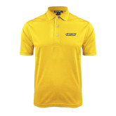Gold Dry Mesh Polo-Centre Colonels