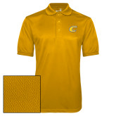 Gold Dry Mesh Polo-C Primary Mark