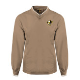 Khaki Executive Windshirt-Colonel Head