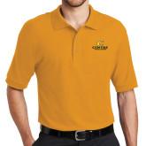 Gold Easycare Pique Polo-C Centre College